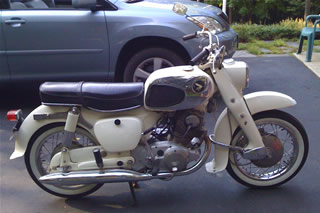 Vintage Honda Dream